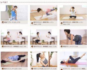 Yogalog ヨガレッスンレベル1