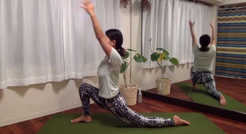 ku-yogaのレッスンの様子