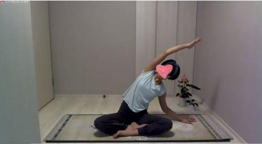 yoggy air 実際のレッスン