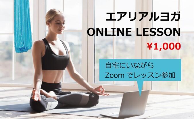 日本エアリアルヨガ オンライン